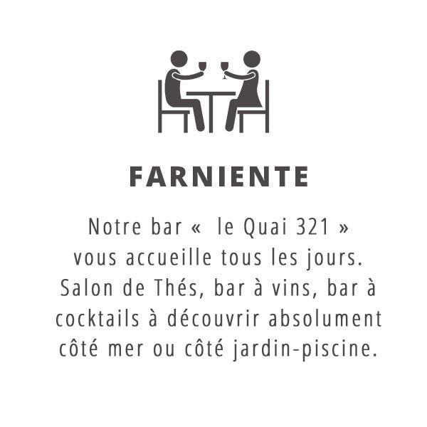 Notre bar le 'Quai 321'