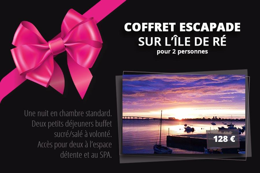 Saint Valentin - Coffret Escapade à deux sur l'Île de Ré