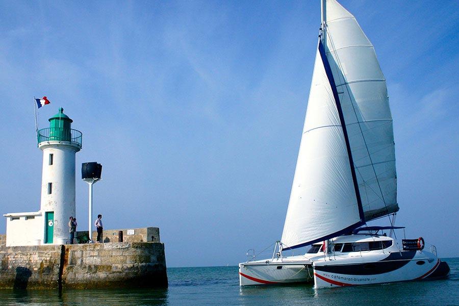 Sortie catamaran sur l'Île de Ré
