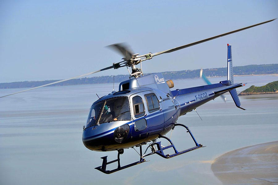 Balade en hélicoptère