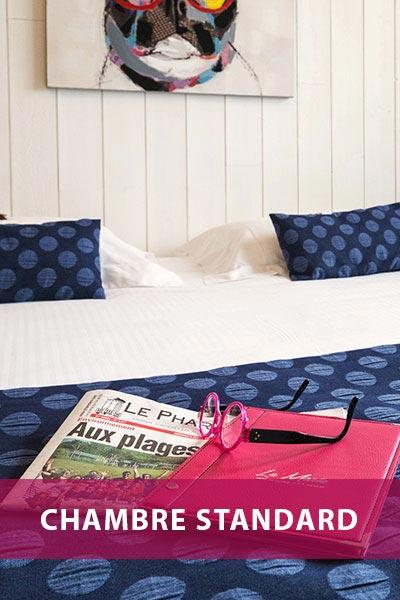 Hotel de La Maree, Hotel de charme 3 etoiles sur l'Ile de Ré - Les catégories de chambres - Chambre Standard