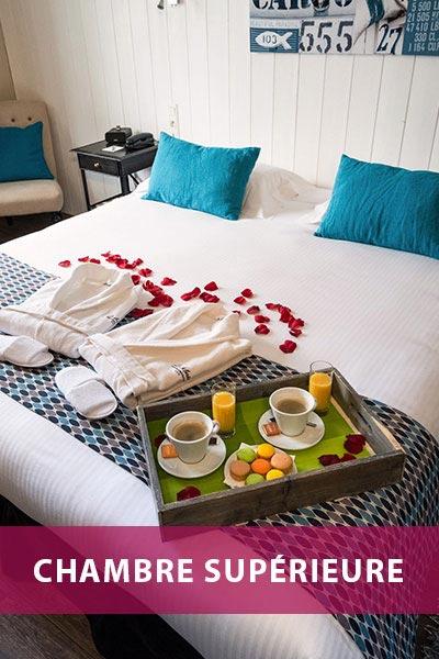 Hotel de La Maree, Hotel de charme 3 etoiles sur l'Ile de Ré - Les catégories de chambres - Chambre Supérieure