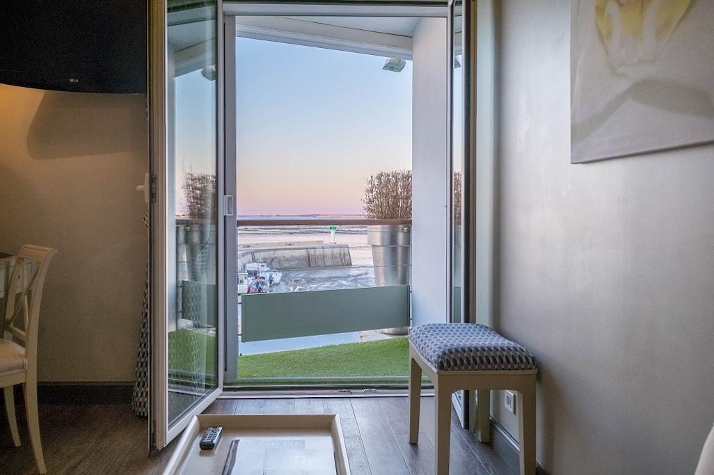 Hotel de La Maree, Hotel de charme 3 etoiles sur l'Ile de Ré - Chambre Superieure Duplex sur l'Ile de Ré balcon
