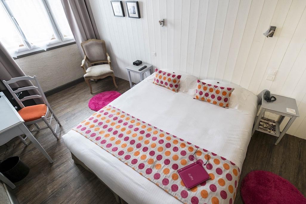 Hotel de La Maree, Hotel de charme 3 etoiles sur l'Ile de Ré - chambre familiale sur l'Ile de Ré grand lit