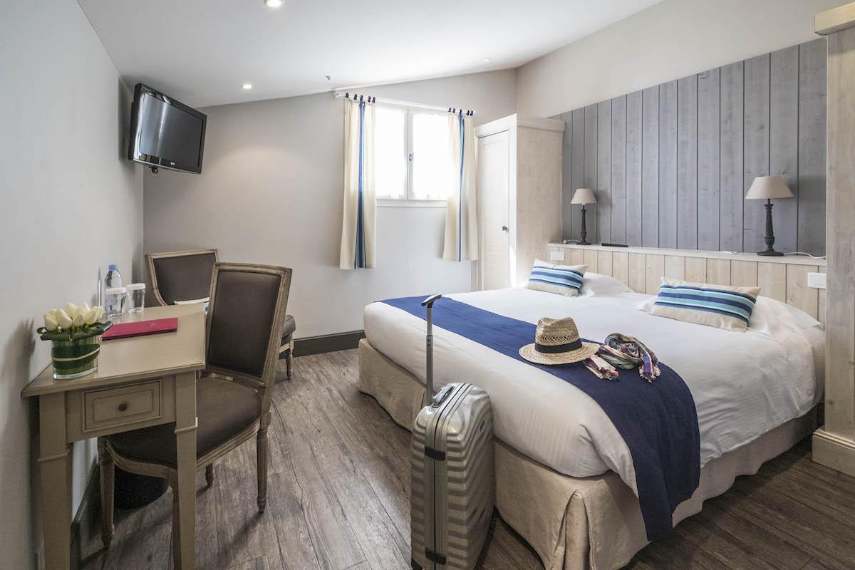 Hotel de La Marée - Hotel de charme 3 étoiles - Ile de Ré - Chambre standard sur l'Ile de Re