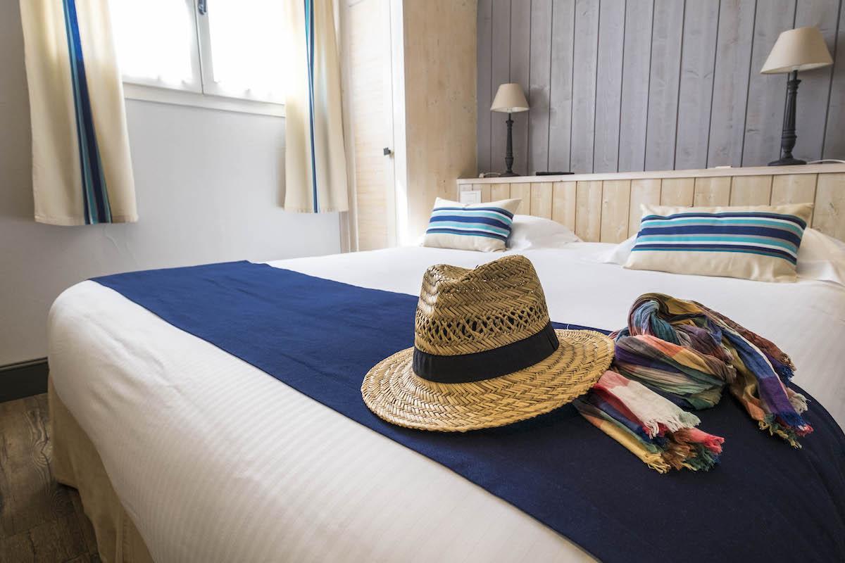 Hotel de La Marée - Hotel de charme 3 étoiles - Ile de Ré - Chambre standard sur l'Ile de Re grand lit