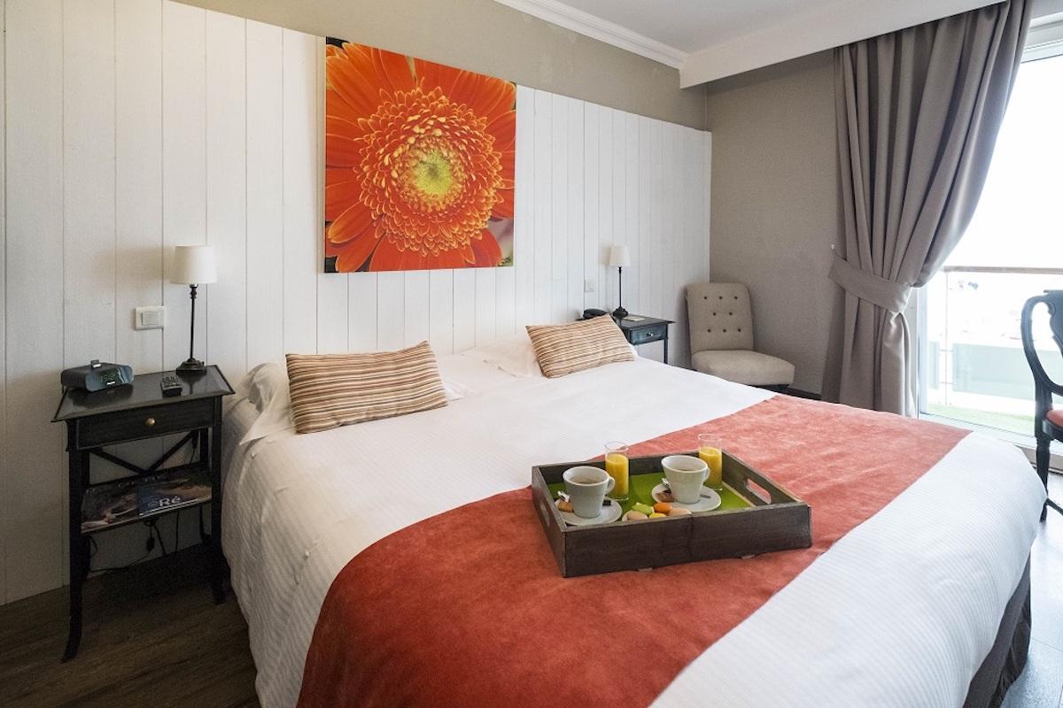 Hotel de La Marée - Hotel 3 étoiles de charme - Ile de Ré - chambre superieure sur l'Ile de Ré
