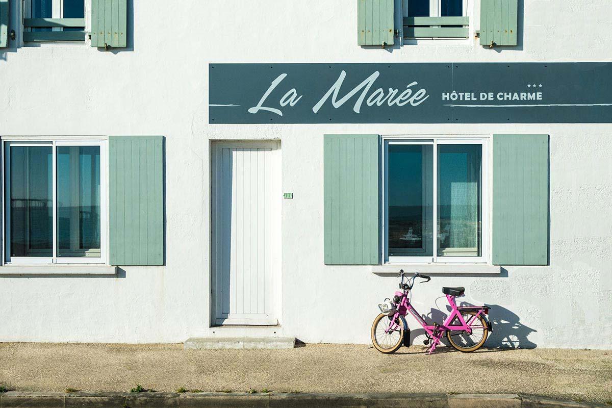 Galerie - Hôtel de la Marée - Île de Ré