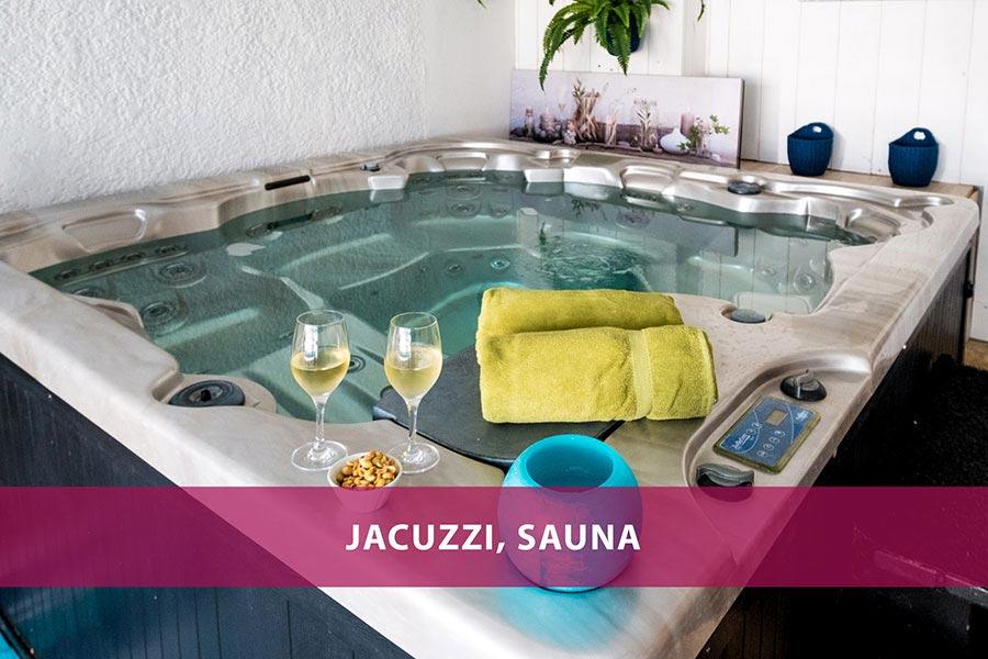 Hôtel de La Marée - Jacuzzi, sauna