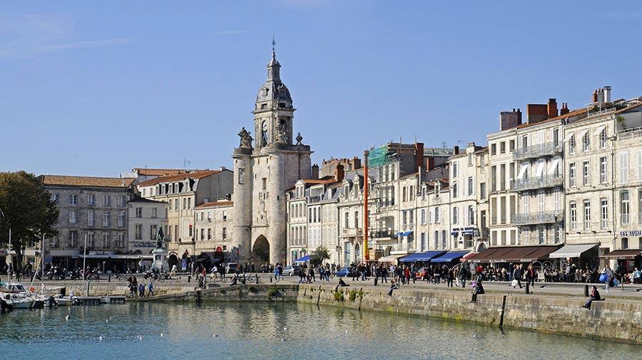 Hotel de La Maree, Hotel de charme 3 etoiles sur l'Ile de Ré - QUE FAIRE A VOIR A LA ROCHELLE - Le vieux port de La Rochelle