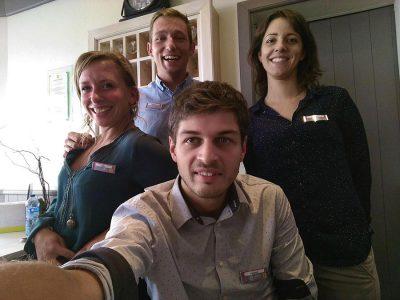 L'équipe de choc de l'hôtel de La Marée