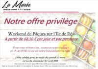 Pâques 2018 Slide In extrait Hôtel La Marée Ile de re