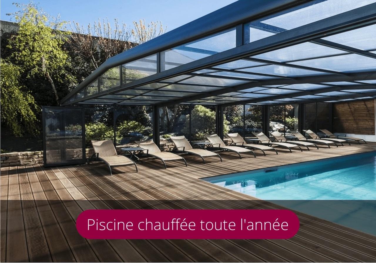 Piscine Chauffée Hotel Ile de Ré hotel de la Marée Rivedoux-Plage Plage