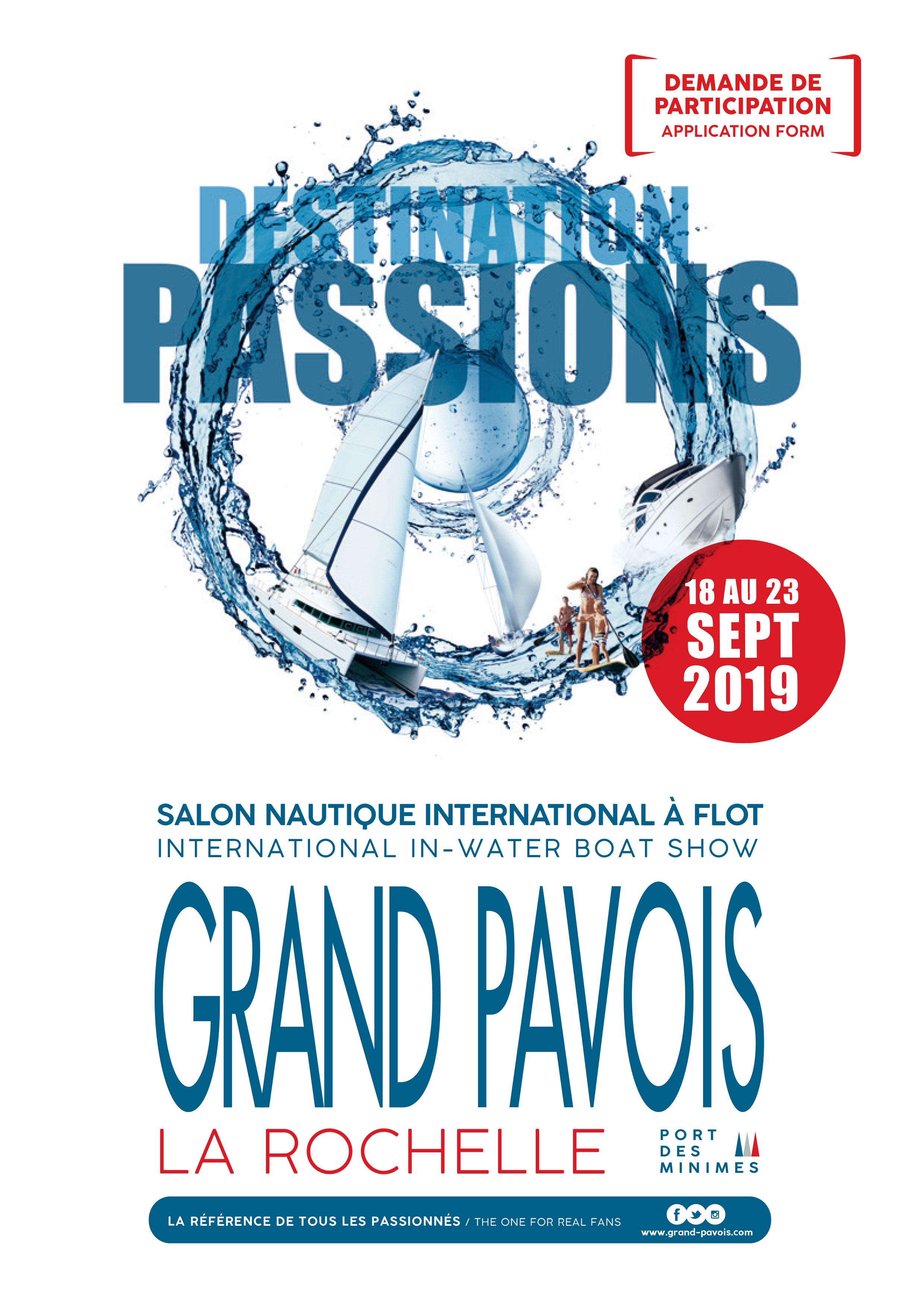 Grand Pavois 2019, salon nautique de La Rochelle