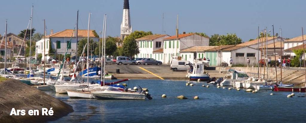 Hotel de La Maree, Hotel de charme 3 etoiles sur l'Ile de Ré - Les differents villages de l'Ile de Ré - Ars en Ré