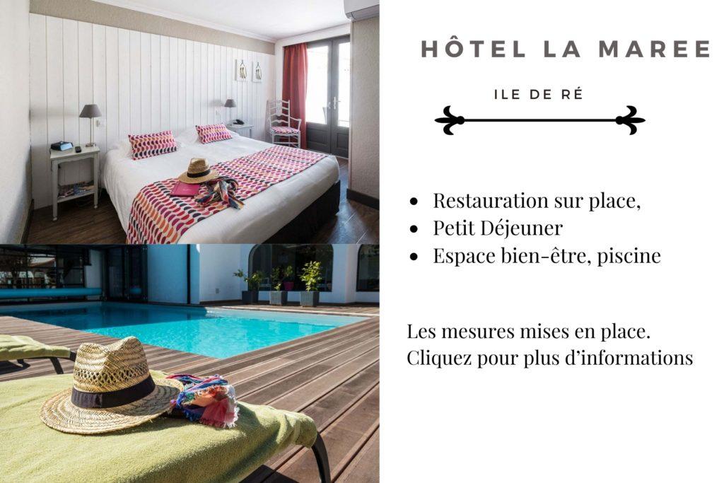 Hotel de la marée - Hotel Ile de Ré