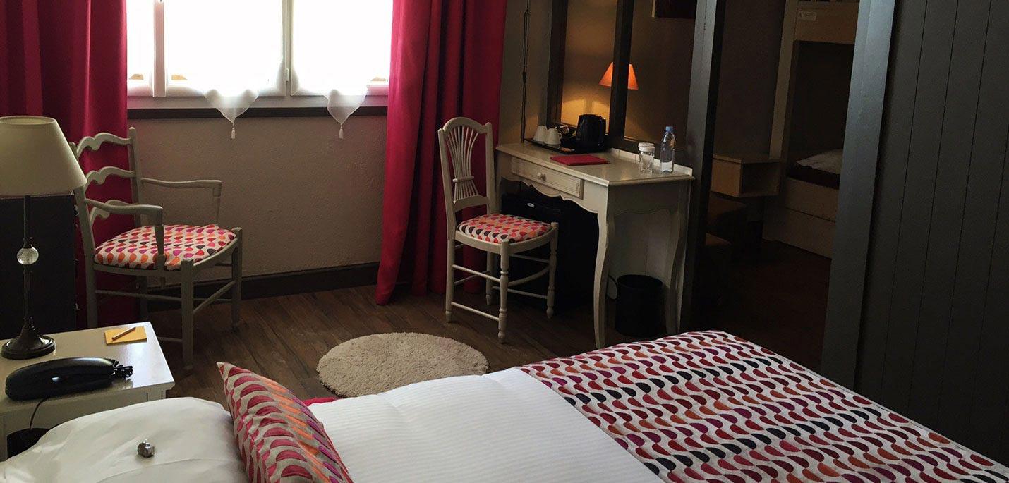 Chambre-Familiale hotel ile de ré Hotel de la Marée